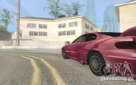 New Alpha для GTA San Andreas вид сзади