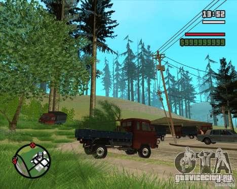Развозчик ёлок для GTA San Andreas пятый скриншот