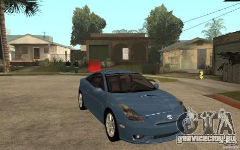 Toyota Celica SS2 для GTA San Andreas вид сзади