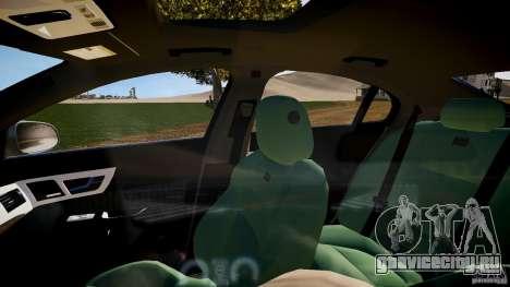 Jaguar XFR 2010 для GTA 4 вид изнутри
