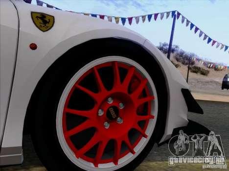 Ferrari 458 Italia Tuned для GTA San Andreas вид сбоку