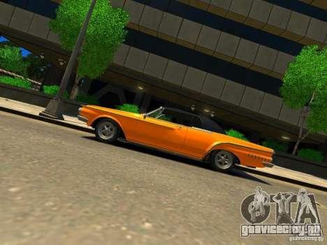 Dodge Dart для GTA 4 вид слева