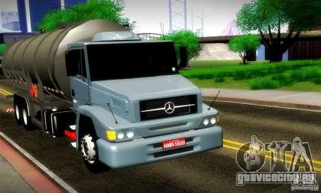 Mercedes-Benz L1620 Tanque для GTA San Andreas