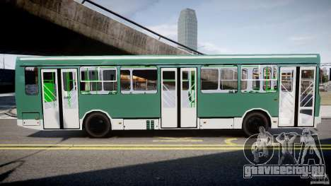 ЛиАЗ 5256 для GTA 4 вид слева