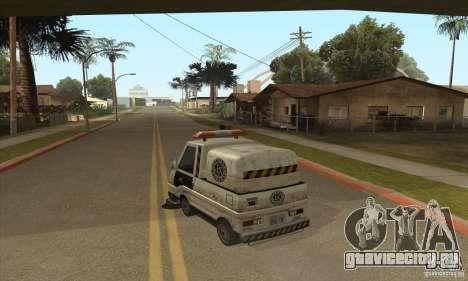 Работа дворника для GTA San Andreas второй скриншот