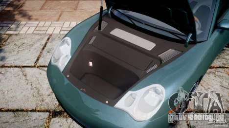 Porsche 911 (996) Carrera 4S для GTA 4 вид изнутри