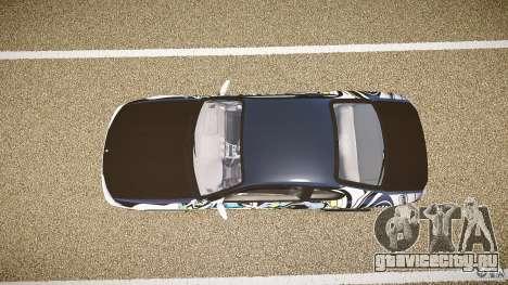 Nissan Silvia S15 Drift v1.1 для GTA 4 вид сзади