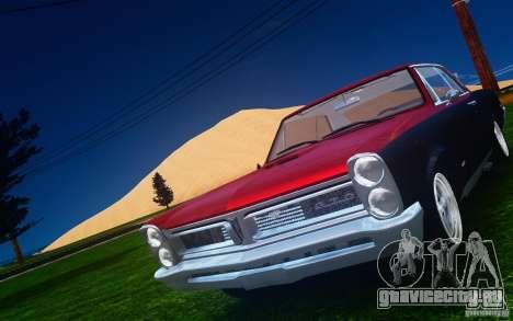 Pontiac GTO 1965 FINAL для GTA 4 салон