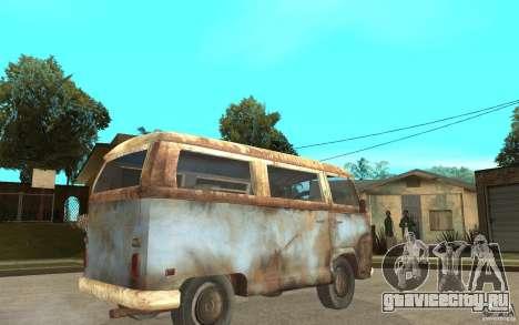 Dharma-Van (VW Typ 2 T2a) для GTA San Andreas вид справа