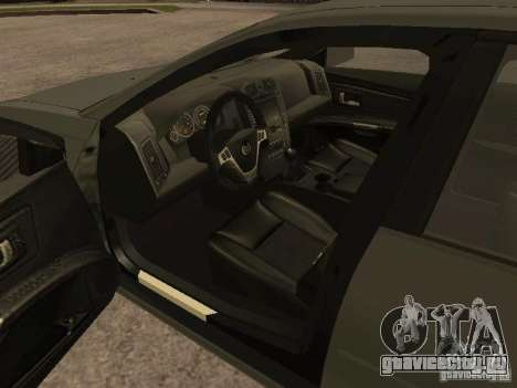 Cadillac CTS-V для GTA San Andreas вид сзади слева