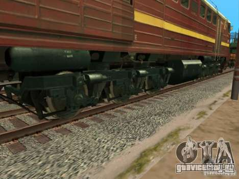 2ТЭ10У-0211 для GTA San Andreas вид сзади
