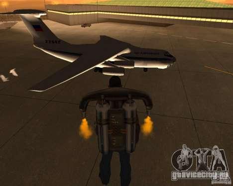 Ил-76 для GTA San Andreas вид справа