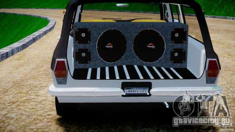 ГАЗ 24-12 1986-1994 Tuning для GTA 4 вид снизу