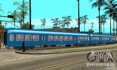 Вагон 21-47 CFR для GTA San Andreas вид сзади слева