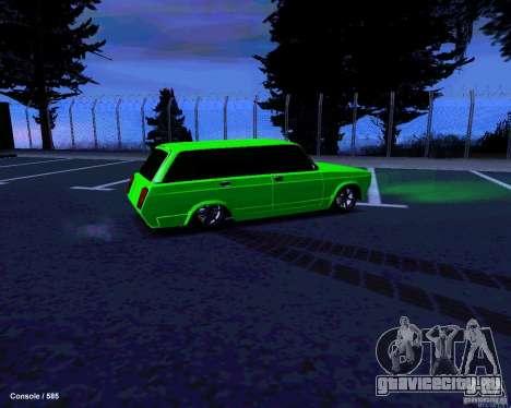 ВАЗ 2104 для GTA San Andreas вид сверху