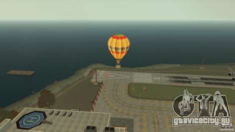 Balloon Tours original для GTA 4 вид слева