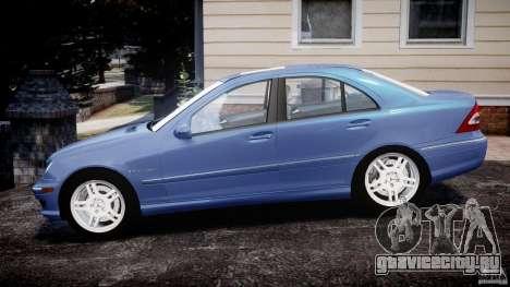 Mercedes-Benz C32 AMG 2004 для GTA 4 вид слева