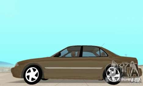 Mitsubishi Galant для GTA San Andreas вид сзади слева