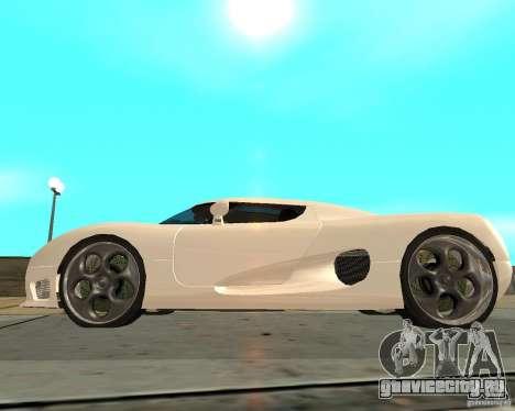 Koenigsegg CCRT для GTA San Andreas вид слева
