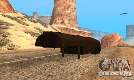 Прицеп к Duel Peterbilt для GTA San Andreas