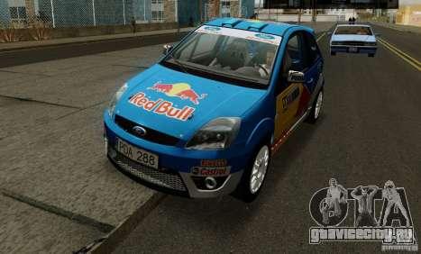 Ford Fiesta ST Rally для GTA San Andreas