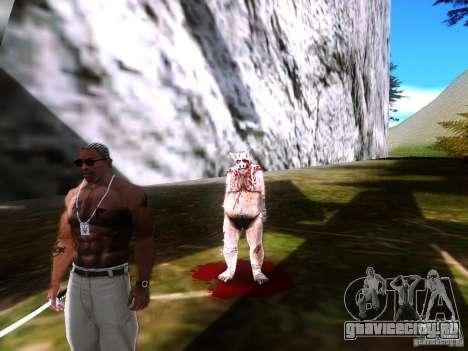 Piggsy on Mount Chilliad для GTA San Andreas второй скриншот