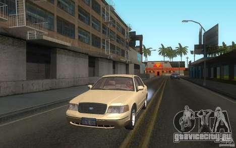 Ford Crown Victoria для GTA San Andreas вид сбоку