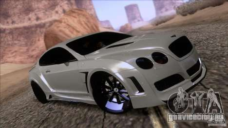 Bentley Continental GT Premier 2008 V2.0 для GTA San Andreas колёса