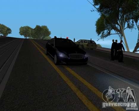 Emergency Lights для GTA San Andreas второй скриншот