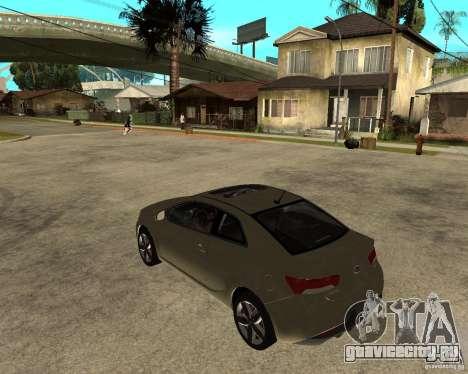 KIA Forte Coup для GTA San Andreas вид слева