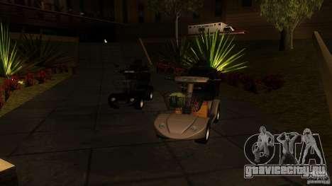 Elektroscooter - Speedy для GTA San Andreas вид слева