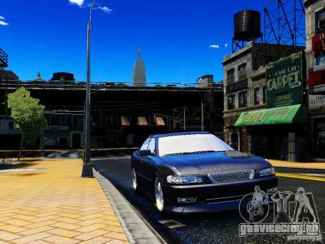 Toyota MARK II 1990 для GTA 4 вид слева