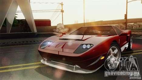 Bullet GT from TBOGT для GTA San Andreas вид сзади слева