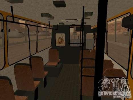 Икарус 280.33 для GTA San Andreas вид сзади