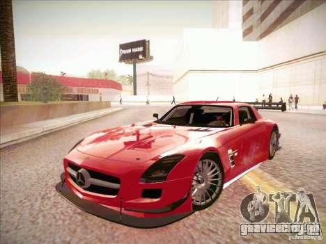Mercedes-Benz SLS AMG GT-R для GTA San Andreas вид слева