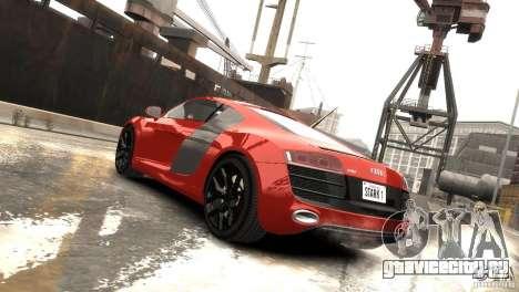 Audi R8 V10 2010 [EPM] для GTA 4 вид справа