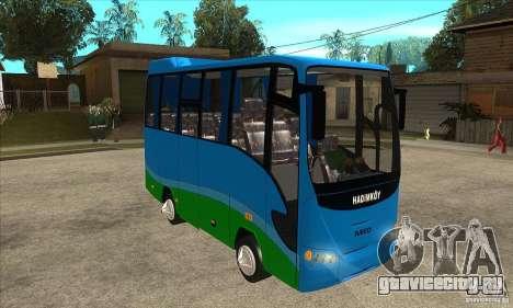 Iveco Eurocity для GTA San Andreas вид сзади