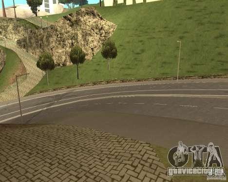 Новые дороги в Vinewoode (Los Santos) для GTA San Andreas третий скриншот