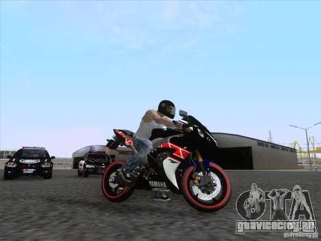 Yamaha YZF R1 2012 для GTA San Andreas