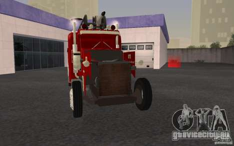 Peterbilt 379 Fire Truck ver.1.0 для GTA San Andreas вид снизу