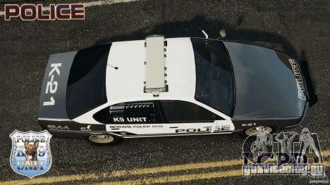 LCPD K9 Unit для GTA 4 вид справа
