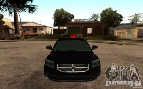 Dodge Caliber для GTA San Andreas вид справа
