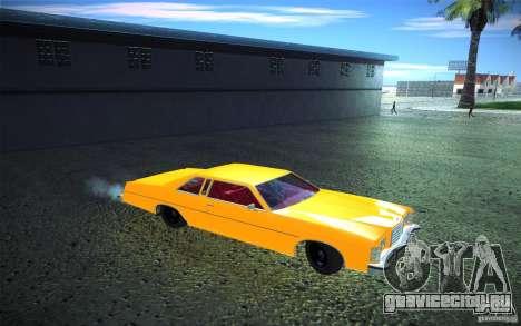 Ford LTD Coupe 1975 для GTA San Andreas вид сбоку