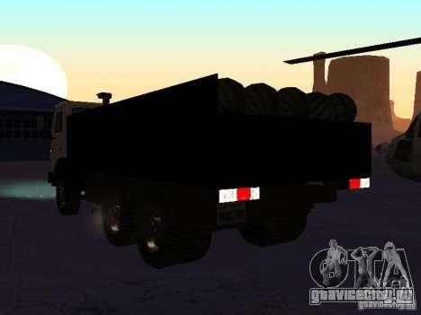 КАМАЗ 53212 бортовой для GTA San Andreas вид слева