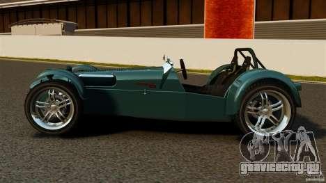 Caterham Superlight R500 для GTA 4 вид слева
