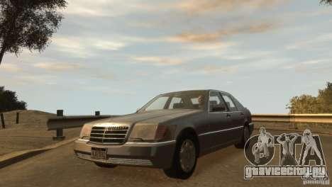 Mersedes-Benz 500SE Wheels 2 для GTA 4
