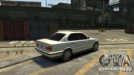 BMW 525i для GTA 4 вид справа