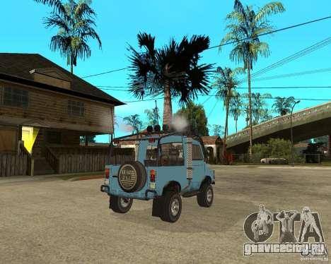 ЛуАЗ-969М Тюнинг для GTA San Andreas вид сзади слева