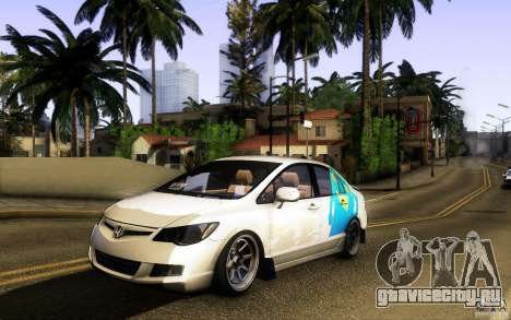 Honda Civic FD BlueKun для GTA San Andreas