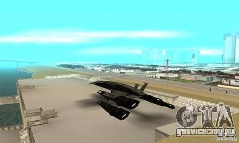 S.S.V. NORMANDY-SR 2 для GTA San Andreas вид сзади слева